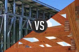 Timber Frame VS Steel Frame
